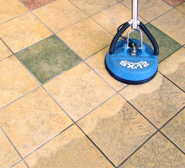 clean grout lines tile