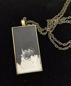 mixed-up- Concrete pendant in a bronze pendant tray and bronze chain. £15 + post and packaging