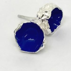 Silverkupe Blue Seed Stud