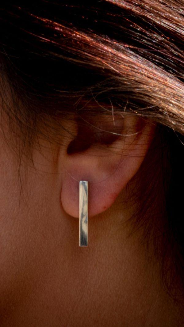 Silverkupe Simplicity Stud Earrings