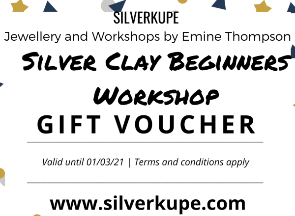 Silverclay Workshop Gift Voucher