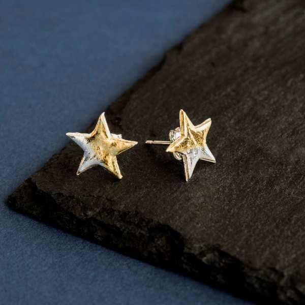 Silverkupe Star Studs