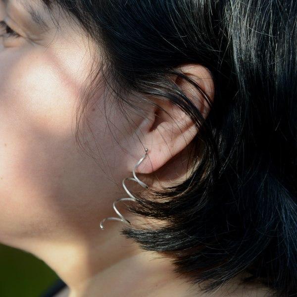 Silverkupe Tangled Earrings