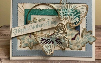 Butterfly Brilliance Mother's Day Card