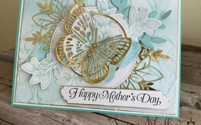 A Mother's Day Butterfly Delight card