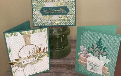 Forever Fern Trio of Cards