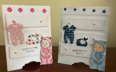 You're going to love these baby bureau cards!
