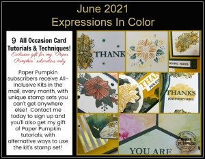 Paper Pumpkin – a Crafting Box Delivered Right to Your Mailbox and a Subscriber Appreciation offer from me!