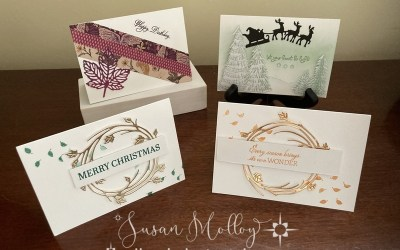 What I created on World Cardmaking Day