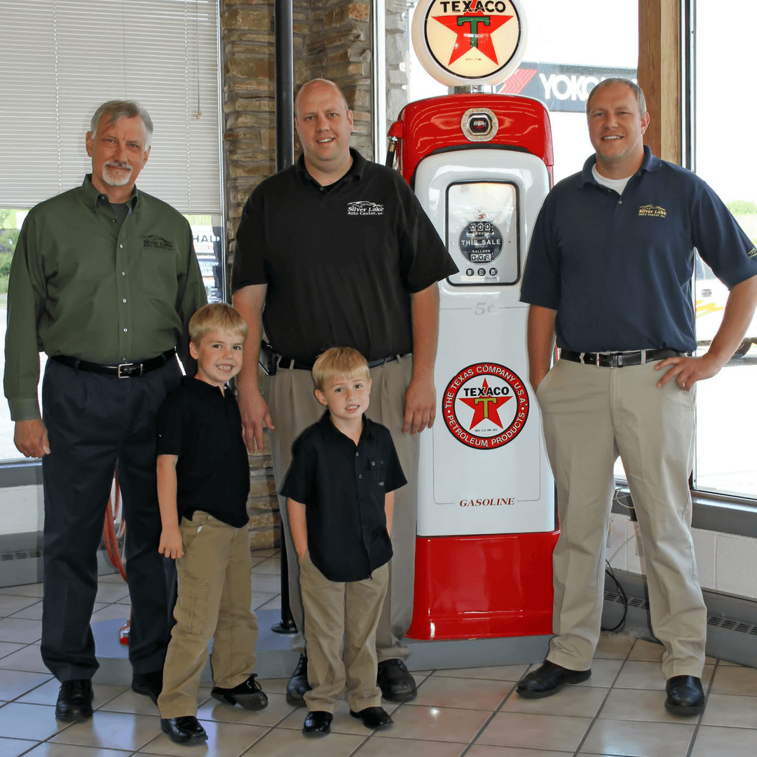The Garlock Family, the owners of Silver Lake Auto & Tire Center