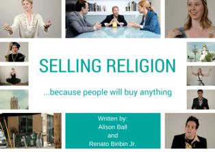 Selling Religion Poster for fest
