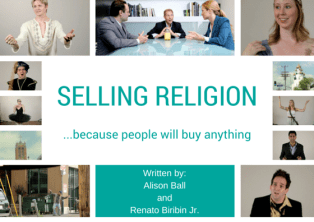 Selling Religion Poster for fest