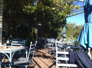 Patio at Cape Farmhouse Restaurant