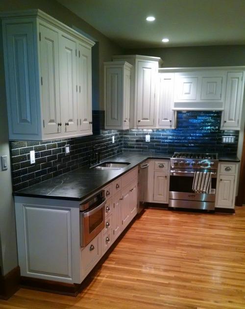 Kitchen Remodel Contractor, Kitchen Remodel, Stone Counter top, Tile backsplash