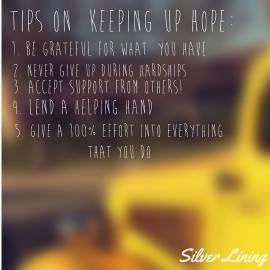 https://silverliningcommunity.wordpress.com/2016/03/02/tips-on-keeping-up-hope/