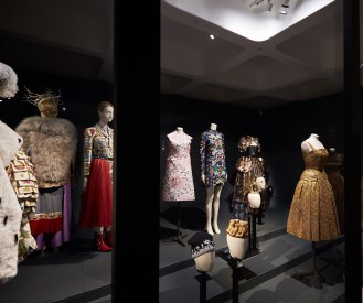 LONDON, ENGLAND - OCTOBER 12: The Vulgar: Fashion Redefined, Barbican Art Gallery, 13 October 2016 - 5 February 2017 on October 12, 2016 in London, United Kingdom. (Photo by Michael Bowles/Getty Images for Barbican Art Gallery)