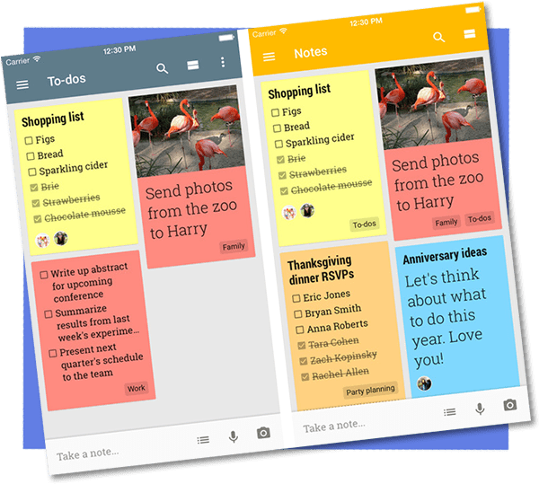 Google Keep – Strong but Simple