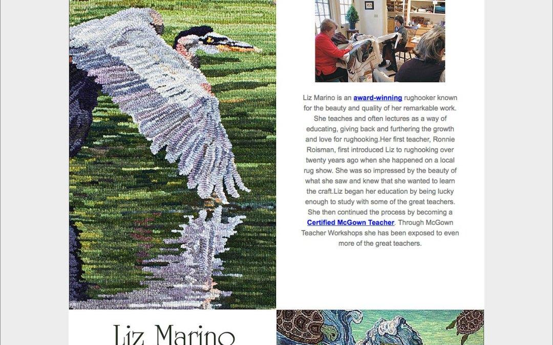 Liz Marino Rug Hooking