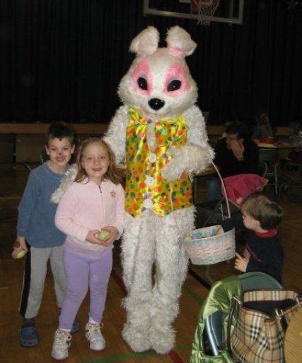 Silvermine Easter Bunny
