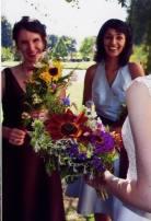 bridal and bridesmaid bouquets