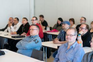 Teilnehmer auf dem Babba Business Day 2019 in Großostheim