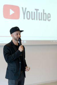 Daniel Hauber als Sprecher auf dem Babba Business Day 2019 in Großostheim