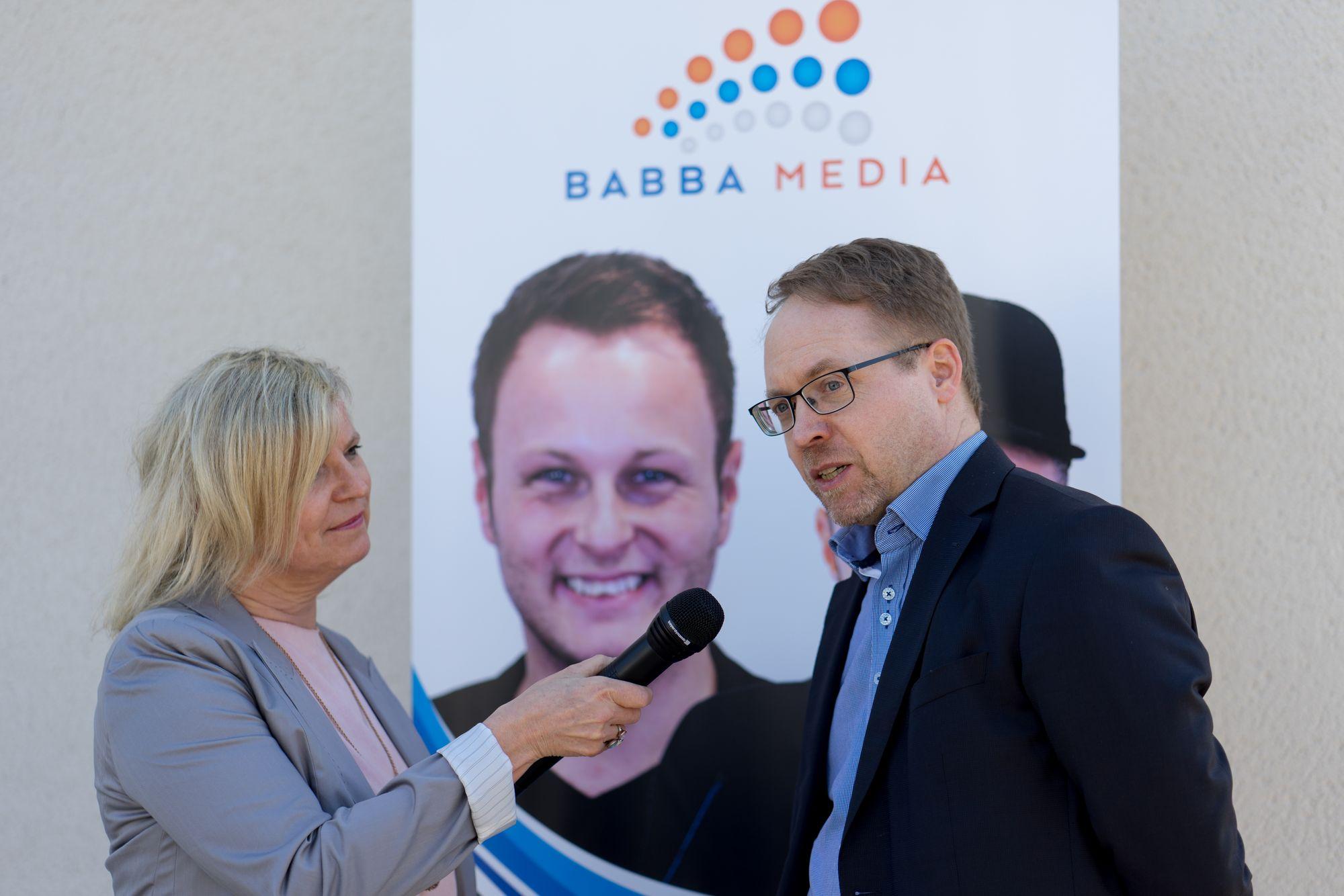 Thomas Loczewski (Tom Loc) im Interview auf dem Babba Business Day 2019 in Großostheim