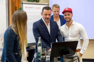 Astrid Harzendorf, Marco Vantroba, Daniel Hauber und Stefan Beier auf dem Builderall Everest 2018 in Nürnberg (Germany)