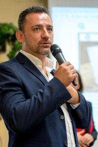 Marco Vantroba als Sprecher auf dem Builderall Everest 2018 in Nürnberg (Germany)