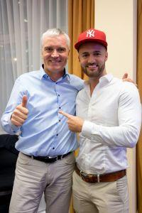 Svend Krumnacker und Daniel Hauber auf dem Builderall Everest 2019 in Nürnberg (Germany)