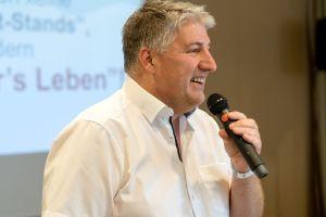 Matthias Jäger als Sprecher auf dem Builderall Everest 2019 in Nürnberg (Germany)