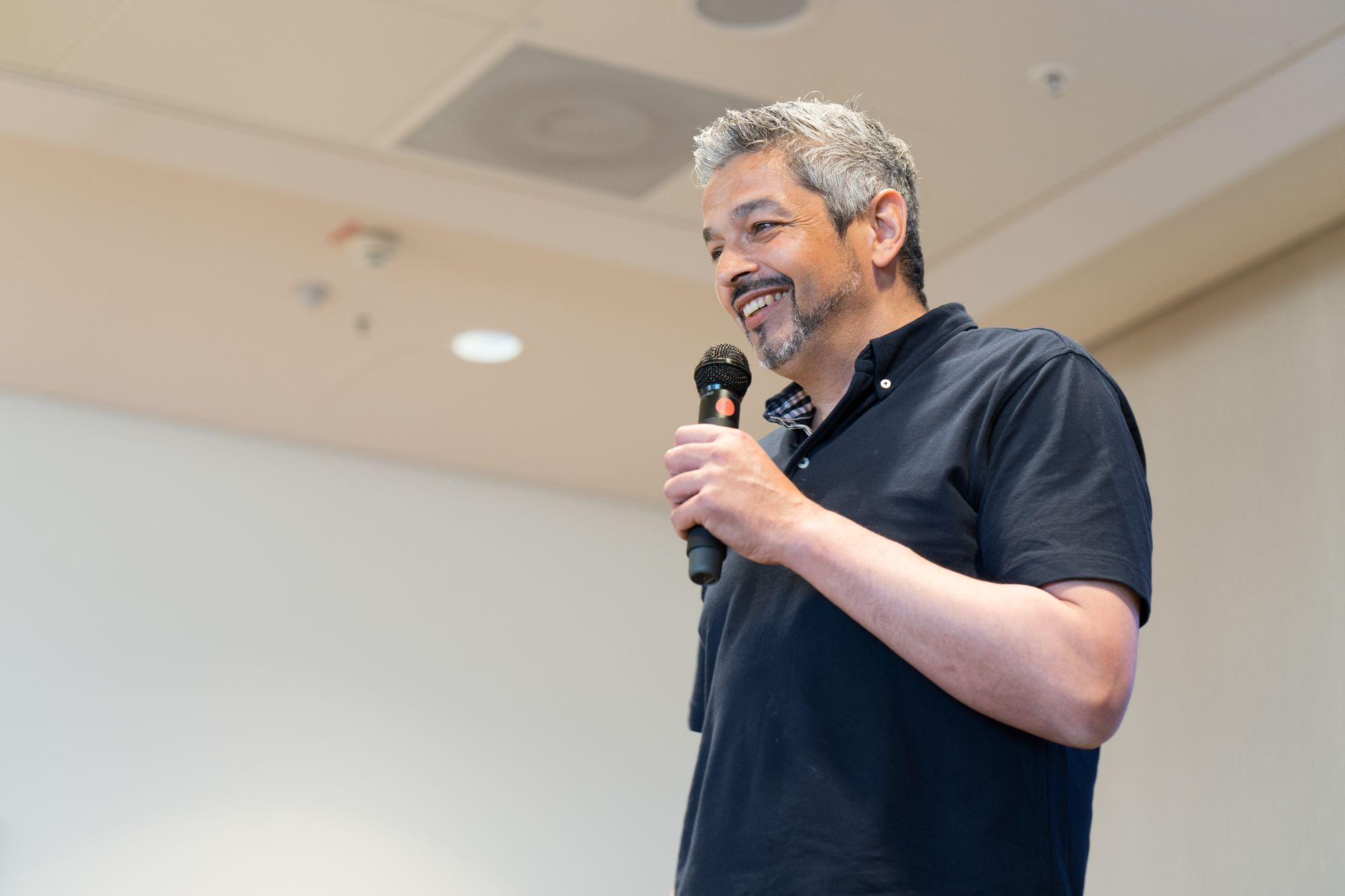 Jean-Claude Capanna als Sprecher auf dem Builderall Everest 2019 in Nürnberg (Germany)