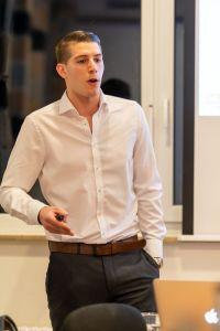 Tim-Christopher Jäger auf dem MACH.BAR Event 2020 in Biberach