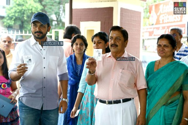 Kollywood votes at Tamil Nadu Assembly Elections 2016 ...
