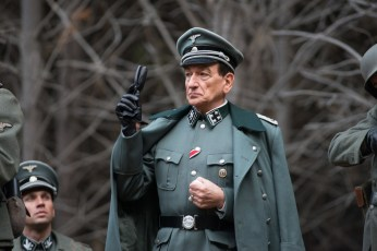 Ben Kingsley stars as Adolf Eichmann in OPERATION FINALE, written by Matthew Orton and directed by Chris Weitz, a Metro Goldwyn Mayer Pictures film. Credit: Valeria Florini / Metro Goldwyn Mayer Pictures © 2018 Metro-Goldwyn-Mayer Pictures Inc. All Rights Reserved.