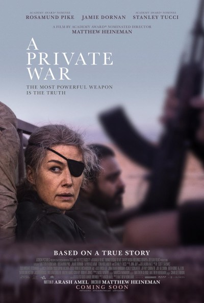 A Private War (2018) Aviron Pictures ©