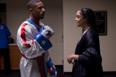C2_08811_RC Michael B. Jordan stars as Adonis Creed and Tessa Thompson as Bianca in CREED II, a Metro Goldwyn Mayer Pictures and Warner Bros. Pictures film. Credit: Barry Wetcher / Metro Goldwyn Mayer Pictures / Warner Bros. Pictures © 2018 Metro-Goldwyn-Mayer Pictures Inc. and Warner Bros. Entertainment Inc. All Rights Reserved.