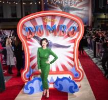 "Eva Green attends the European Premiere of Disney's ""Dumbo"" on February 27, 2019 in London, UK"