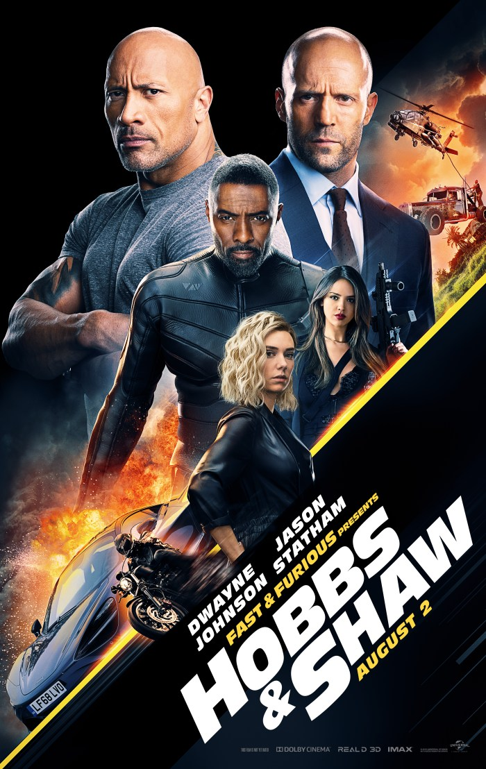 Hobbs & Shaw (2019) Poster 1