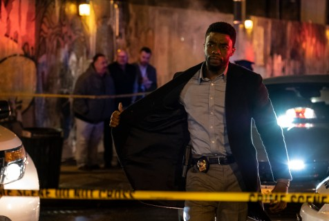 Chadwick Boseman stars in 21 Bridges (2019) STXfilms