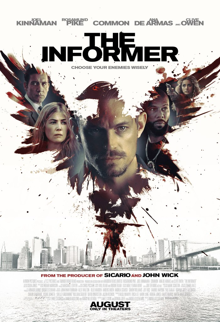 The Informer (2019) Poster
