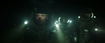 """KUnderwater (2020) 20th Century Foxristen Stewart stars in Twentieth Century Fox's """"Underwater""""."""