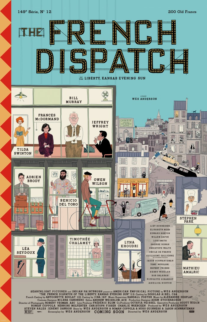 The French Dispatch (2020) Poster