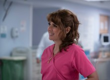 Marisa Tomei as Margie Carlin in The King of Staten Island, directed by Judd Apatow.