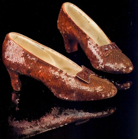 Wizard of Oz Ruby slippers Profiles 2011