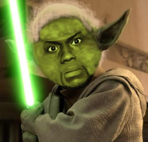Kevin Hart Yoda