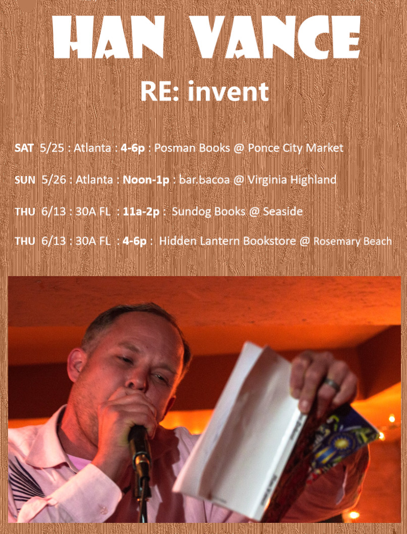 Han Vance RE: invent Tour Poster