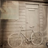 Old Bicycle Tintype - Power from the Past at Beamish Museum, September 2014.