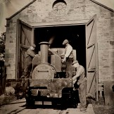 SHDC Lewin No.18 Tintype - Power from the Past at Beamish Museum, September 2014.