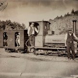 Britomart Tintype - Power from the Past at Beamish Museum, September 2014.
